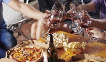 Take-away y vino, un maridaje perfecto